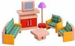 Plan Toys Mebelki dla lalek - Salon