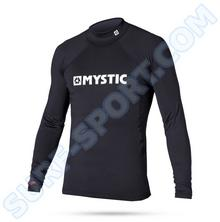 Mystic Lycra Star 2016 Rashvest L/S Black