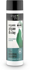 Organic Shop szampon do włosów wzmacniający Błękitna laguna 280 ml