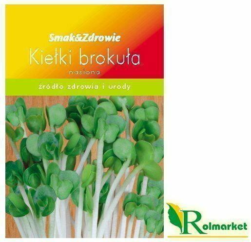 Top Decor Nasiona na kiełki - brokuł Smak&Zdrowie ND22350