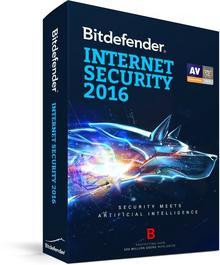 BitDefender Internet Security 2016 (3 stan. / 1 rok) - Nowa licencja