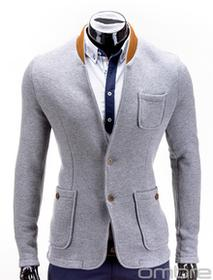 Ombre Clothing MARYNARKA M07 - SZARA