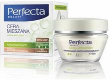 DAX Cosmetics Perfecta Cera Mieszana Krem matujący na dzień i na noc przeciwzmarszczkowy 50ml