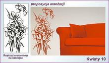 Naklejka Kwiaty, Ornamenty nr 10