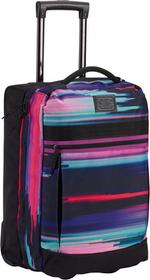 Burton torba podróżna OVERNIGHTER ROLLER GLITCH PRINT
