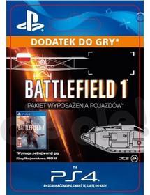 Battlefield 1 Pakiet Wyposażenia Pojazdów PS4 wersja cyfrowa