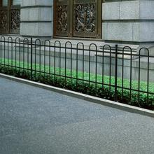 vidaxl Ogrodzenie ozdobne palisadowe ze stali, czarne, 60 cm