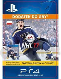 Sony NHL 17 2800 Punktów [kod aktywacyjny] Dostęp po opłaceniu zakupu SCEE-XX-S0026896