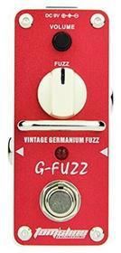 Tomsline tomsline agf3G-Fuzz pedałów, Mini, Vintage German Transistor Fuzz Czerwony AGF3