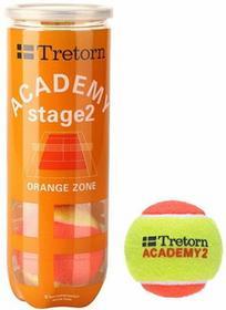 Tretorn Piłka Tenisowe Academy Orange - 3 szt.