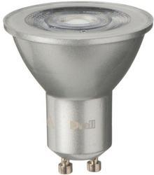 Diall Żarówka LED GU10 5 5 W 345 lm mleczna barwa zimna DIM
