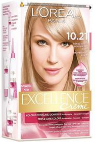 Loreal Excellence Creme 10.21 Bardzo bardzo jasny perłowy blond