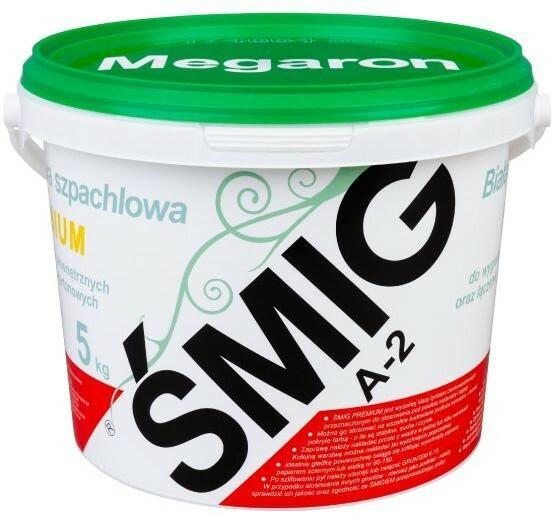Megaron Gotowa zaprawa szpachlowa Śmig A-2 Premium 5 kg