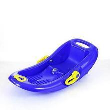 KHW Snow Flipper de Luxe 26002 Saneczki granatowe)