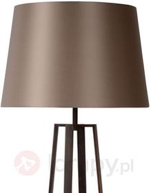 Lucide Rdzawobrązowa lampa stojąca COFFEE LAMP
