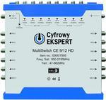 Opinie o Technisat MultiSwitch Cyfrowy Ekspert CE 9/12 HD