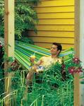La siesta Currambera Fotel hamakowy C140. zielony CUC14-4