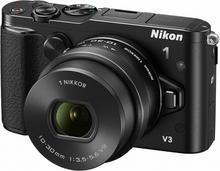 Nikon 1 V3 + 10-30 kit czarny