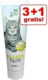 Grau Cat Care Plus, 4 X 100 G - Care Plus Żołądkowo-Jelitowa Pasta Dla Kota, Ziołowa