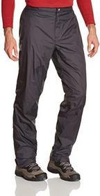 Vaude męskie spodnie yaras Rain Pants, czarny 05016