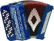 Moreschi 482 C 46(60)/2/3 80/4 akordeon guzikowy (niebieski)