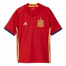 adidas Koszulka piłkarska Hiszpania Home Jersey Euro 2016 Replika Junior AA0850