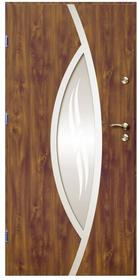 O.K.Doors Drzwi zewnętrzne  Otto Ellise 90 lewe złoty dąb
