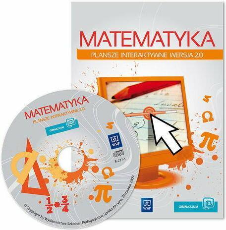 WSiP matematyka. Plansze interaktywne 2.0. Szkoła podstawowa klasy 4-6