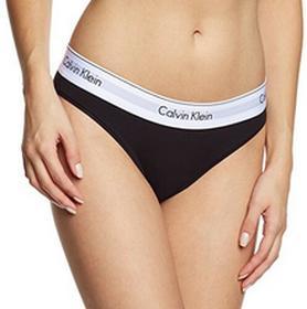 Calvin Klein Majtki Underwear MODERN COTTON - BIKINI dla kobiet, kolor: czarny (BLACK 001), rozmiar: 34 (rozmiar producenta: XS)