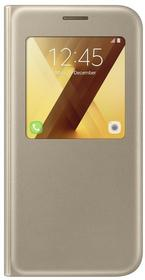 Samsung S-View Standing Cover do Galaxy A5 2017 złoty EF-CA520PFEGWW