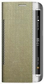 """Zenus pokrowiec ochronny \""""Metallic Diary"""" w kolorze hellgold do Samsung Galaxy S6 edge SM-G925 °F"""