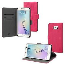 Muvit Samsung Galaxy S6 Wallet Stand case with 3 cardslots Pink