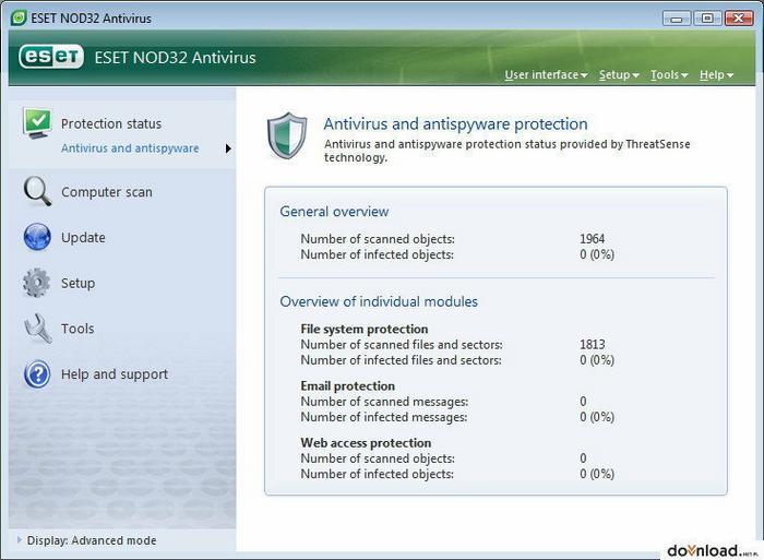 Eset NOD32 Antivirus (1 stan. / 1 rok) - Uaktualnienie