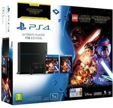 Sony PlayStation 4 1TB Czarny + LEGO Star Wars: The Force Awakens