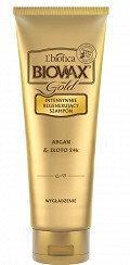 Lbiotica BIOVAX Szampon GOLD wygładzanie 200ml