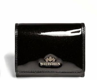 Wittchen Mały portfel damski - Verona Wallet 25-1-070-1 czarny