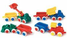 Viking Toys Auto Chubbies z Przyczepa- 1144