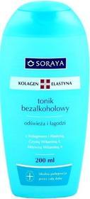 Soraya Kolagen+ Elastyna: tonik bezalkoholowy 200ml