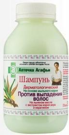 Pierwoje Reszenie Rosja Babuszka Agafia Dermatologiczny szampon przeciw wypadaniu włosów 300ml