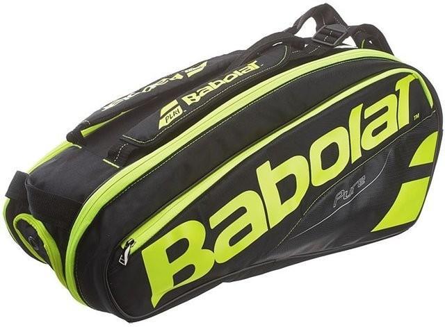35f7040cf956f Babolat Torba tenisowa Pure Aero x6 - black/fluo yellow - Ceny i opinie na  Skapiec.pl