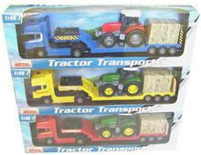 Teama Transporter z traktorem 60482