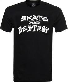 Thrasher T-shirt SKATE AND DESTROY czarny