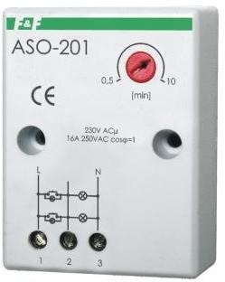 F&F Sterownik schodowy wyłącznik automatyczny 230V 16A ASO-201