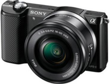 SonyILCE-5000LB + 16-50 kit czarny