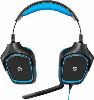 Logitech G430 Niebiesko-czarny