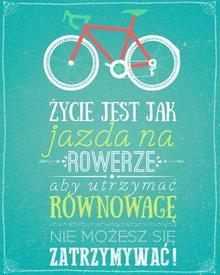 Rower Plakat