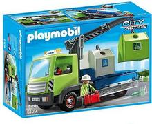 Playmobil 6109 City Action - Ciężarówka z pojemnikami do segregacji odpadów