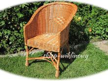 Fotel wiklinowy 12