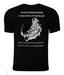 "Koszulka TigerWood \""Spadochroniarz"" - czarna (31276) N"