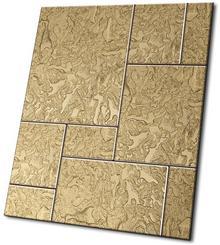 Midas Componer Złoty Struktura Nr 40 43,5x43,5x0,6